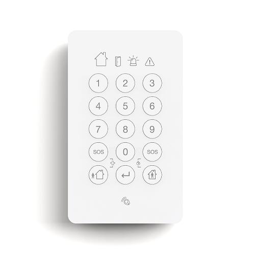 SIPAC-home-draadloos-alarmsysteem-Bedieningspaneel